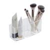 Howards Acrylic 3 Compartment Brush & Makeup Organiser