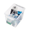 SmartStore Home 16 Storage Box with Lid 25L - Clear