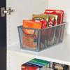 Seville Pantry Organising Basket Medium - Silver Mesh