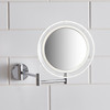 LED 5x Magnification Wall Mounted Makeup Mirror