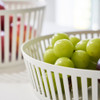 Tower Small Round Fruit Basket - White