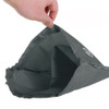 Travel Shoe Bags Set of 2 - Black/Grey