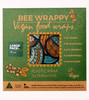 Bee Wrappy Vegan Food Wraps 2 Pack - Large