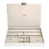 Stackers Supersize Jewellery Box with Lid - White