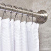 iDesign Rollerz Shower Curtain Rings Set of 12 - Stainless Steel