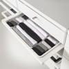 elfa 40 Decor Gliding Drawer Frame Front W600 - White