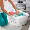 Sterilite Divided Laundry Basket 78L