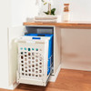 Howards Twin Pull-Out Laundry Hamper