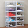 Clear Stackable Shoe Box
