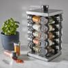 Avanti 20 Jar Revolving Spice Rack with Spices