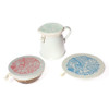halo Dish Covers Small Set of 3