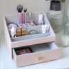 Stackers Classic Tiered Makeup Organiser - Blush
