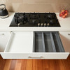 Howards 3 Compartment Cutlery Tray 45cm - Grey