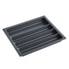 Howards 4 Compartment Cutlery Tray 55cm - Grey