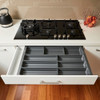 Howards 4 Compartment Cutlery Tray 75cm - Grey