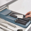 Joseph Joseph DrawerStore Compact Knife Drawer Organiser - Sky Blue