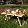 Peer Sorensen Rectangular Small Folding Picnic Table - Rubberwood
