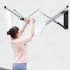 brabantia 24m WallFix Wall Mounted Clothes Dryer with Protective Cover