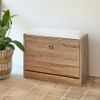 Howards Shoe Cabinet with Seat - Natural