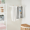 Howards Wall Mount Plastic Retractable Airer 60.5cm