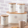 Typhoon Living Bread Bin - Cream