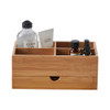 Howards Bamboo Makeup Organiser with Drawer
