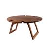 Peer Sorensen Round Large Folding Picnic Table - Acacia Wood