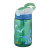 Contigo Gizmo Flip Drink Bottle 420ml - Green Dino