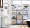 easy-build Custom Bathroom Shelving Unit
