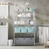 easy-build Custom 5 Shelf Bathroom Unit