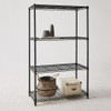 easy-build 4 Shelf Unit 150cm - Black