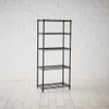 easy-build 5 Shelf Unit 150cm - Black