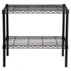 easy-build Microwave Bench Stand Kit - Black