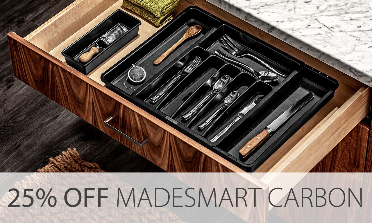 madesmart cutlery trays