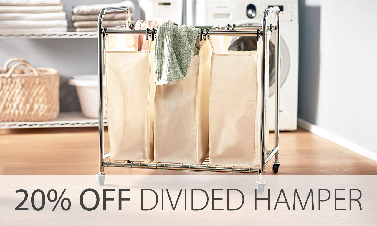 divided hamper