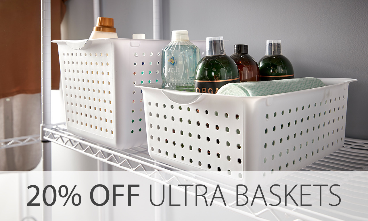 sterilite ultra baskets