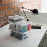 SmartStore Home 0.5 Storage Box with Lid 300ml - Clear