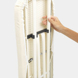 Brabantia Size S Ironing Board with Adjustable Steam Iron Rest - Cotton Flower