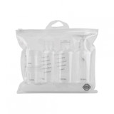 Carry-On Approved Travel Kit 7 Piece Set - Clear
