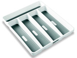 madesmart 5 Compartment Cutlery Tray - White