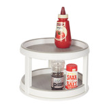 madesmart Twin Lazy Susan Turntable - White