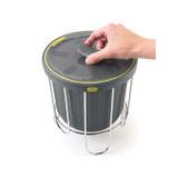 Polder Silicone Kitchen Benchtop Compost Bin 3.8L