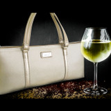 Sachi Insulated Wine Purse - Gold