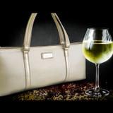 Sachi Insulated Wine Purse - Gold