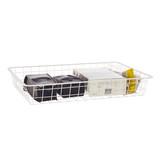 elfa Drawer System 35 Wire Drawer 1 Runner - White