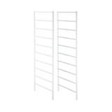 elfa Drawer System Frame Sides 10 Runner 2-Piece- White