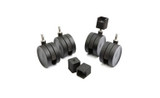 elfa Set of 4 Black Castors