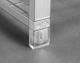 Elfa Clear Plastic Feet for Drawer Frame