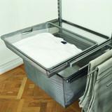 elfa 40 Gliding Mesh Drawer W605mm x H185mm - Platinum
