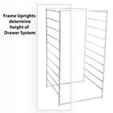 elfa Drawer System Mini Frame Sides 7 Runner 2-Piece - White